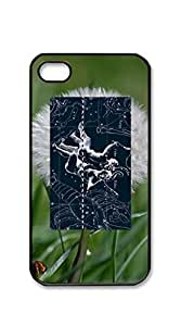 Hard Back Shell Case Cover case iphone 4s blue - Cool constellation