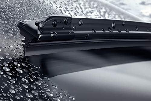 Lot de 2 balais dessuie-glace sp/éciaux pour Jee p Renegad e 550//500 mm