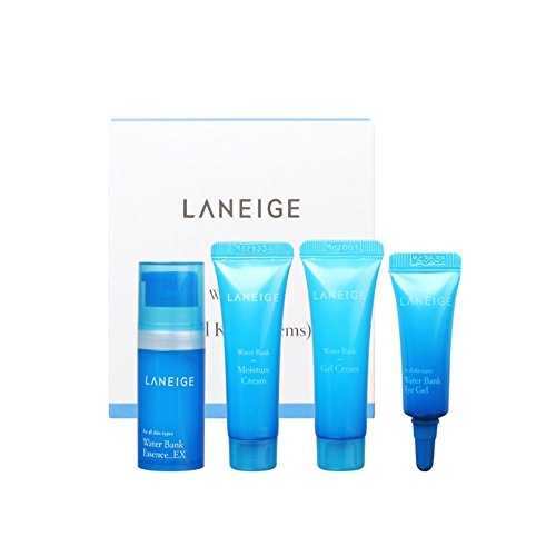 laneige-water-bank-trial-kit-essence-10ml-moisture-cream-10ml-gel-cream-10ml-eye-gel-3ml-4pcs