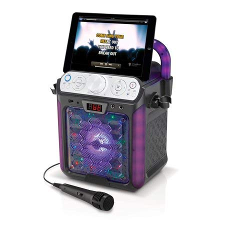 Create Fun,Lasting,Singable Moments with Cool,Colorful and Exciting Singing Machine Karaoke Cube Multi-Function Karaoke System with Dancing Lights,Makes a Great Gift by Generic (Image #3)