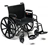 Graham Field Paramount Wheelchair, 24x18, Desk Arm, Swingaway Footrest, 1/Ea, GHF5P010520