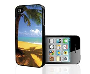 Beautiful Palm Tree At the Beach Hard Phone Case For Apple Iphone 5/5S Case Cover