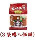 チョーコー長崎味噌1kg(3個購入価額)