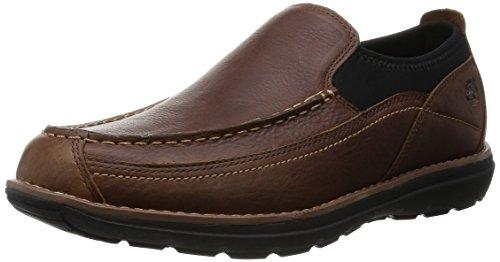Timberland Men's Barrett Park Slip-On Loafer, Medium Brown, 12 M - Brown 12 Mens Loafers