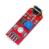 Arduino Kits, KEYES 801S Vibration Sensor Module - Red (DC 3~5V)