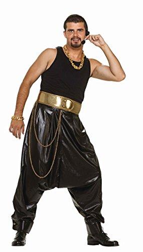 (Forum Novelties Men's Adult Rap Star Costume Pants, Black, One Size )