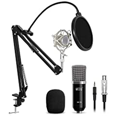 Description: This XRL to 3.5mm condenser microphone adopts the exacting complete electronic circuit control and gold-plate diaphragm capsule. With a good cardioid polar pickup pattern, high output and low self-noise function, the microphone c...