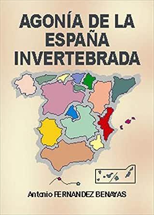 Agonía de la España Invertebrada eBook: Benayas, Antonio Fernández ...