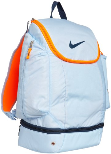 NIKE KD ELITE HOOPS BALL BACKPACK ICE BLUE OKC THUNDER