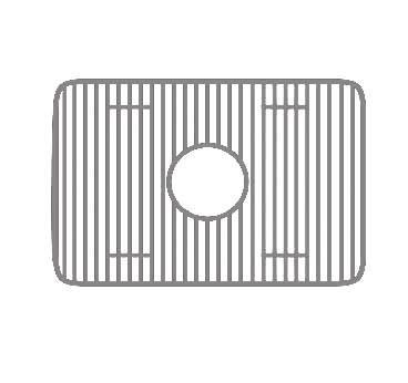 Whitehaus WHREV2418-SS Stainless Steel Sink Grid, Stainless Steel by Whitehaus by Whitehaus