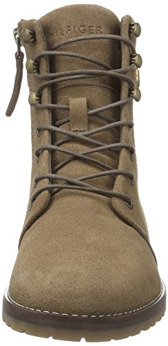 Tommy Hilfiger W1285endy 10b, Zapatillas de Estar por Casa para Mujer Marrón - Braun (Mink 906)