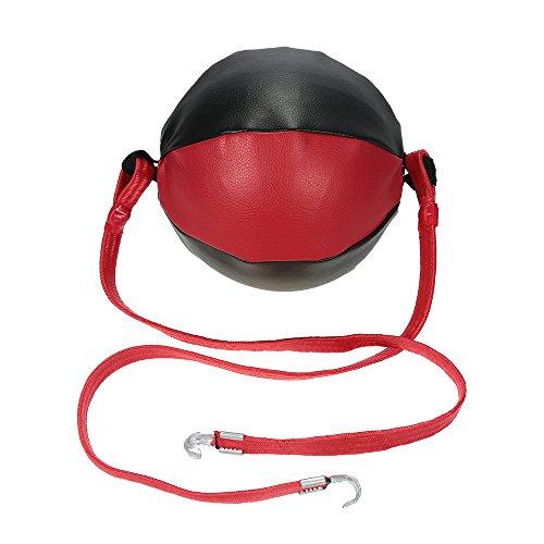 Preeyawadee Boxing Speed Ball Pear Professional Boxing Equipment BodyBuilding Fitness Double End MMA SpeedBalls 285g by Preeyawadee