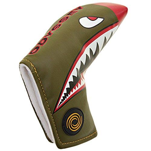 ODYSSEY Golf Fighter Plane Blade Putter Headcover ()