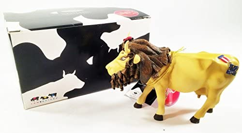 Cow Parade Cowardly Lion Wizard of Oz 7244 Westland Giftware 2002 Retired