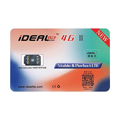 IDEAL 2 Unlock Card Stickers Turbo Sim, IDEAL 4G 2 Unlock Card Stickers With Lock Universal Card For IPhone Xs, X, 8Plus, 8, 7Plus, 7, 6S Plus, 6S, SE, 6Plus, 6, 5s, 5c, 5 Waiting For Lock Machines Al