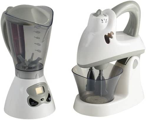 Constructive Playthings PGL-31 Pretend Play Action-Fun Appliances Mixer Set for Toy Kitchens, Grade: Kindergarten to 3, 2 Piece