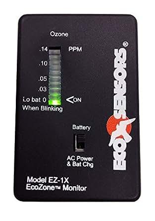 Amazon.com: 8631620 Eco sensores ez-1 X Monitor de ozono ...