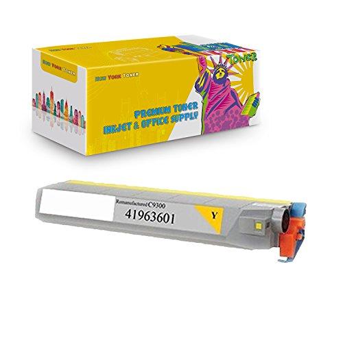 New York TonerTM New Okidata 1 Pack Okidata 41963601 High Yield Toner For OKI : C9300 | C9500dxn | C9500. --Yellow