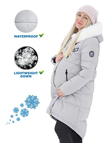 Youth Stream Maternity Winter Jacket Fashion Outerwear for Pregnant Women by Youth Stream