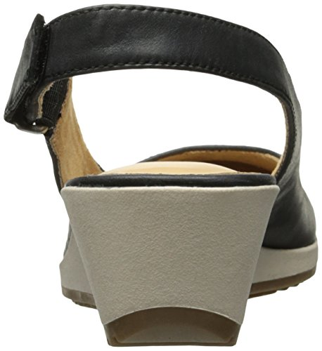 Bridget Espadrille Naturalizer Sandal Wedge Black Women's 7Pv7Fwq0x