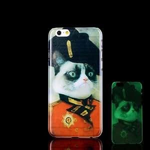 GX Cubierta Posterior - Gráfico/Innovador/Brillo en la Oscuridad - para iPhone 6 Plástico )