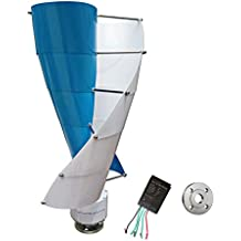 Wondeful Online Spiral Wind Turbine Generator Vertical Axis Type 100-400W Three Phase Permanent Magnet AC Synchronous including a controller