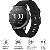 "Smartwatch Haylou LS05 Solar, Bluetooth 5.0, IP68, Tela 1.28"" HD - Lançamento 2020 (Preto)"