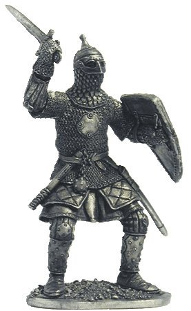 Amazon.com: Ruso Warrior (13 – 14th century) lata soldados ...