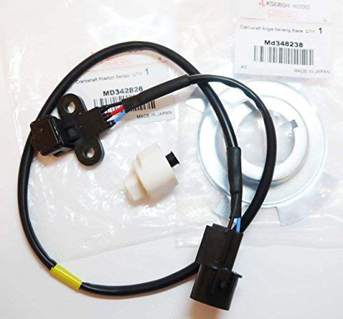 OEM - L200 K74 Crankshaft Angle Position Sensor & Blade Plate Shogun MD342826 Autodily