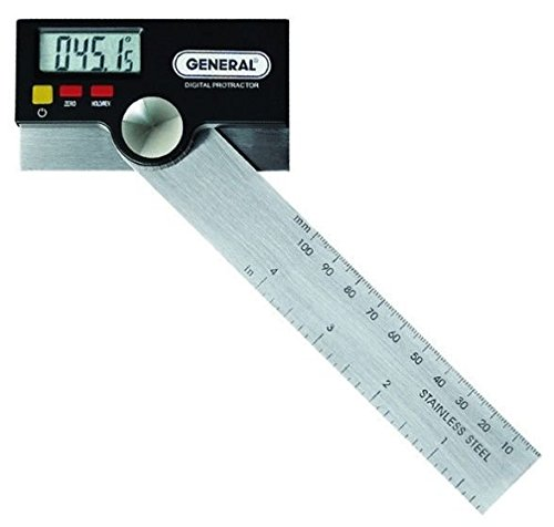 General Tools Protractor Stainless Pivoting
