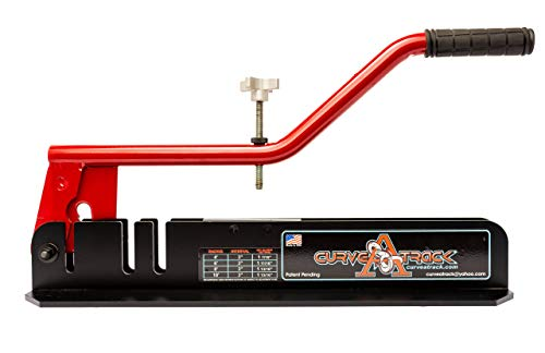 Stud Track Roller - Curve A Track Custom Metal Track & Stud Bending Tool, For Fast, Convenient, Precise Curves & Arches