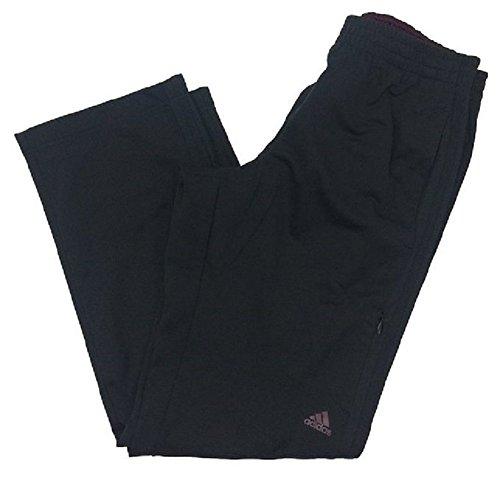 Adidas Men's Weekender Pants Black/Maroon XL