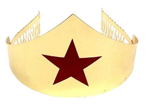 Gold Wonder Woman Tiara Crown