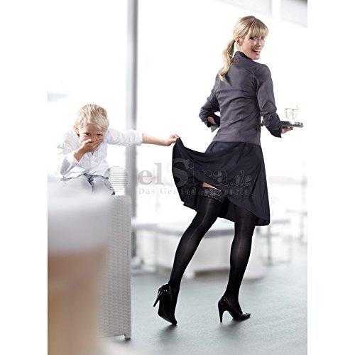 Medi mediven Elegance KKL 2 AD calcetines hasta la rodilla normal topband SENSITIV cerradas de punta - siena