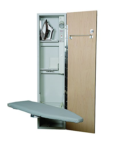 - Iron A Way UD-42 Universal Design Ironing Center, Raised Maple Panel Door