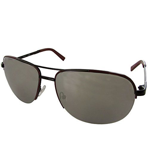 Guess Mens GF0164 Semi Rimless Wire Frame Fashion Sunglasses, - Guess Glasses Rimless