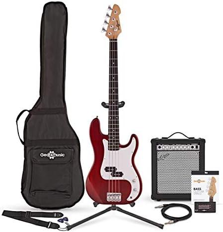 Bajo LA + Pack de Ampli de 35W Rojo: Amazon.es: Instrumentos musicales