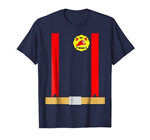 Funny Halloween Firefighter Costume Shirt for (Couples Firefighter Costumes)