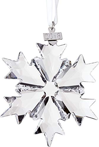 Swarovski Annual Edition 2018 Christmas Ornament, Large, Clear - Crystal Tree Ornaments Christmas