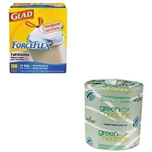 Kitapm235greencox70427 Value Kit Atlas Paper Mills Green Heritage Bathroom