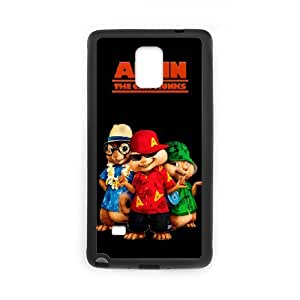 Samsung Galaxy Note 4 Shell Phone Case for Classic Theme Alvin and the chipmunks comic Cartoon pattern design GAATC196149