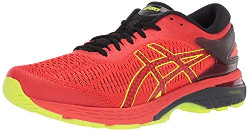 ASICS Gel-Kayano 25 Men's Running Shoe, Cherry Tomato/Black, 10.5 D US ()