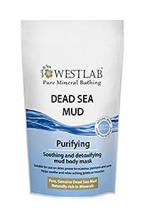 Dead Sea Black Mineral Mud Pouch - 1.32lbs