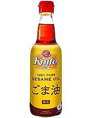 Knife 100% Pure Goma Abura Sesame Oil, 360ml