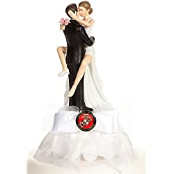 Military Super Sexy Wedding Cake Topper- Air Force - Navy - Army - Marines (Army)