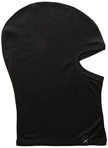 Terramar Thermasilk Ultra-Thin Performance Balaclava, One Size, Black (Layer Balaclava)