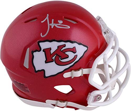 Authentic Autographed Nfl Mini Helmet - Tyreek Hill Kansas City Chiefs Autographed Riddell Speed Mini Helmet - Fanatics Authentic Certified - Autographed NFL Mini Helmets