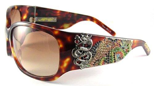 ED HARDY 025 TORT (Ed Hardy Black Sunglasses)
