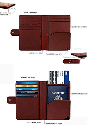 Shopmania Canvas Printed Premium PU Leather Passport Holder Travel Wallet Cover Case Credit card /& Money Storage Organizer SPHW-003