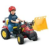 PEDAL POWER ULTIMATE BO MAX HEAVY LOADER TRACTOR WITH WORKING SCOOP